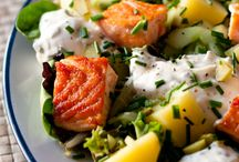 salade saumon et patates