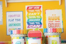 Classroom Decorations / Ways to decorate your classroom