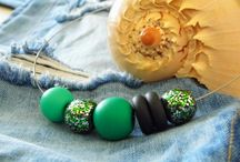 Party Green necklace
