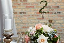 Floral Inspiration from past Citygirl Weddings / From the classic red rose to fresh greenery and succulents - there are plenty of ways to incorporate your personal style into floral arrangements!
