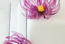 žalatinove květiny
