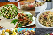 Salad recipes.