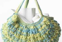 Crochet Purses, Totes And Backpacks / by Glenda Milam