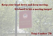Advice to #BC2014 / Advice to the Boston College Class of 2014 from fellow Eagles.  / by Boston College Alumni