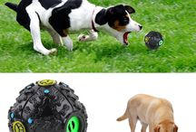 Pet Activity Toy Large Squeaky Giggle Ball Dog Cat Animal Games Train Play Sound