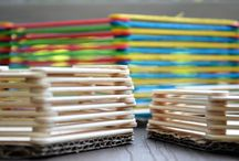 Paddle pop stick craft / by Rosemary Ives