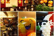 Dekoracje balonowe / Galeria zdjęć wykonanych przez nas dekoracji z balonów. W tym z użyciem balonów helowych.