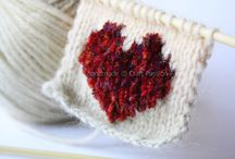 Valentine's Day Knitting Patterns / Valentine's Day knitting patterns, Valentine's Day crochet patterns, easy knitting patterns / by AllFreeKnitting