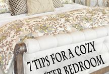 7tips for cozymasterbedroom / Diy