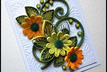 Quilling card 4