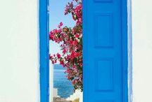 Grécia: ilhas, azul e branco