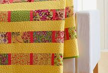 yellow quilts / by Carol Mercer