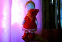 мои работы / куклы, поделки