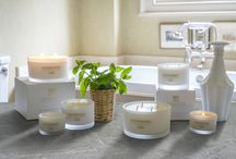 Wild Mint, Watercress and Thyme / Opening the window onto a kitchen garden covered in a fresh blanket of morning dew.  A breath of fresh air.  Luxury Wild Mint, Watercress and Thyme scented candles from Rathbornes.  http://rathbornes1488.com/collections/all