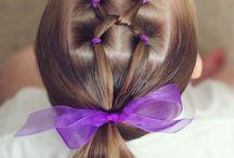 peinado niñad