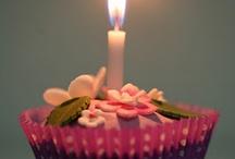 My Cupcakes  / my  flower cupcakes