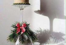 bicchiere natalizio
