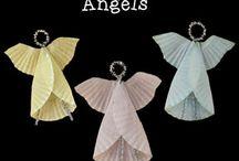 ангелы,маленькие игрушки