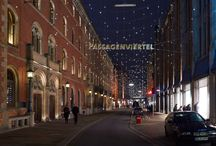 """Sternzauber"", Hamburg ~ Germany / Yesterday, it was the beginning of the ""Sternzauber"" in Hamburg ~ Germany, ""Magic of Stars""!  Light by Artemide."