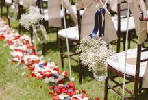 Patriotic Wedding / 4th of July, red white and blue, all the things we love best about summer parties. Time to bring that festive cheer to weddings!