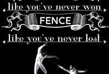 fencing rhythmic  gymnastics