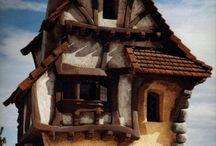 Fairy tale houses / Beutiful