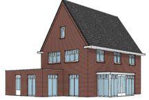 Woonstijl Karakteristiek & Jaren '30 / De geliefde jaren '30 stijl herleeft in veel nieuwe huizen. Een rijke detaillering met grote dakoverstekken, getimmerde bakgoten, erkers en roedes in de ramen kenmerkt deze bouwstijl. Karakteristieke & Jaren '30 woningen zijn er in veel vormen en maten, variërend van hoge herenhuizen tot lage woningen met steile kappen.