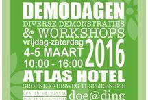 Demodagen 17 (Atlas Hotel 1) / Op vrijdag 4 maart 2016 was de eerste dag in het Atlas Hotel van de demodagen.