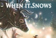Winter and snowy picture books and crafts / Let it Snow! Snowy, wintery books and crafts