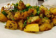 Patates kavurması