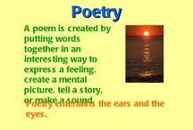 4th Grade Poetry / by Dorothy Loyd