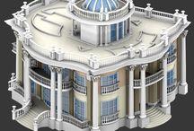 3D evler