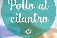 POLLO AL CILANTRO