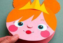 mmmcrafts: kid's craft / Kid-friendly crafts by me!