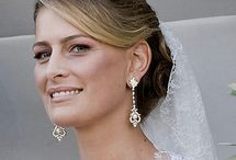 Greece - Tatiana of Greece / Née: Tatiana Ellinka Blatnik. Married Prince Nikolaos of Greece and Denmark, son of Queen Anne-Marie of Denmark.  They married in Spetses, Greece on August 25, 2010.