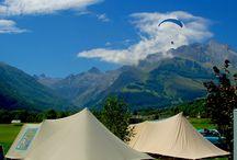 camping / camping nature dans les hautes Pyrénées en France
