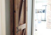 Barn door options