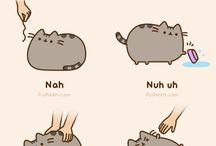 Pusheen the Cat >^. .^<