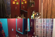 Clutter busting! Before & After