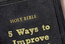 Christianity/Words to live by/Bible study