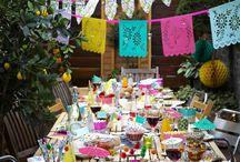 Wedded Weekend: South of the Border / Fiesta, Piñata, Salsa Dancing, Big Skirts