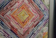Strings & Selvages / Quilts made from string piecing and selvages / by Evalyn Allen