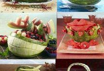 ozdoby z jedzeniem