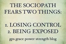 Growing up with a sociopathic/narcissistic father.