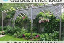 Privacy fences / by Lea Ann White-Wassell