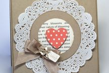 paper doily card