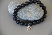 Collier bracelet perles