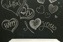 Happy Valentines Day / Decorating at our center. Simple ideas from our creative stuff:)