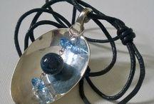 Vintage Silverware Jewellery and Accessories by BenakSilverWear / https://www.etsy.com/shop/BenakSilverWear