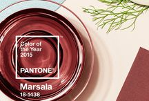 Marsala / Pantone Color of the Year 2015: Marsala / by Smith & Noble
